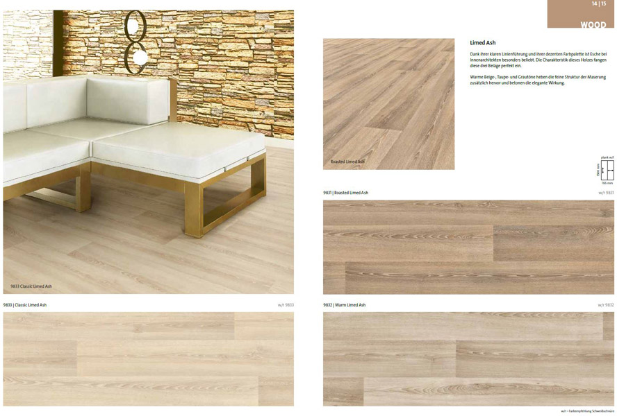 Objectflor Expona Flow @ Boden4You Vinyl Design Boden Bahnen Wood ...