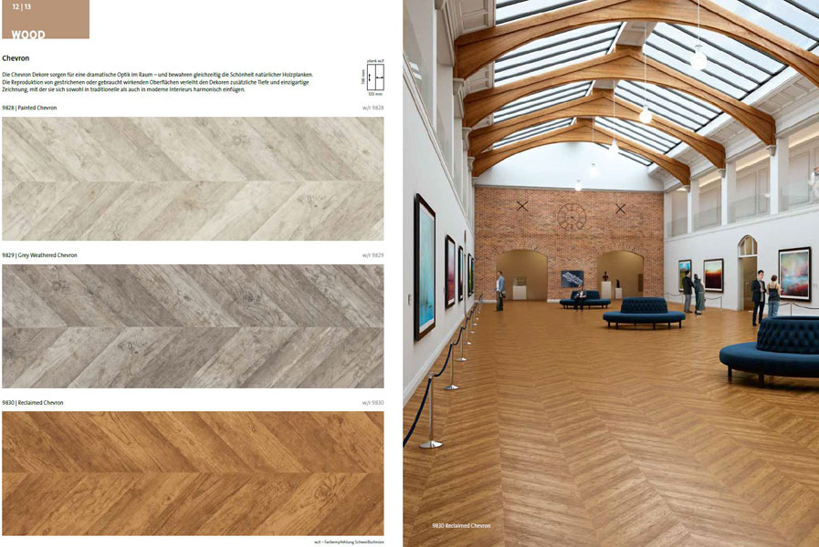 www.Boden4You.com objectflor expona flow Wood Chevron Vinylboden Vinyl Design Boden günstig kaufen trusted shop SSL frachtfrei PVC
