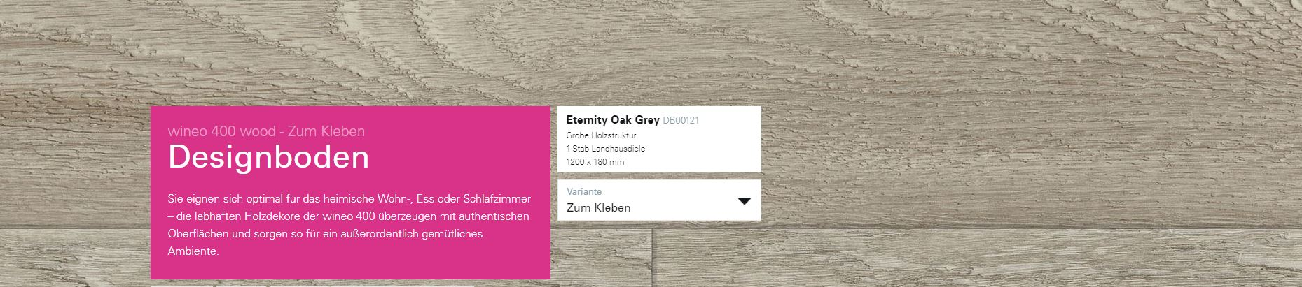 Wineo 400 Eternity Eternity Oak Grey DB00121 @ Boden4You.com Design Bodenbelag günstig und Trsuted Shop sicher kaufen