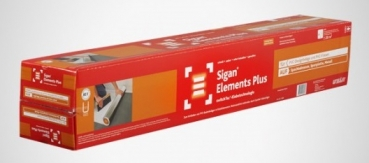 Sigan Elements PLUS 75 cm x 25 lfm + 5 cm x 25 lfm = 20 m²