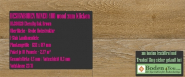 Wineo 400 Wood zum Klicken DLC00120 Eternity Oak Brown @ Boden4You.com Vinyl Design Bodenbelag günstig und Trusted Shop sicher kaufen
