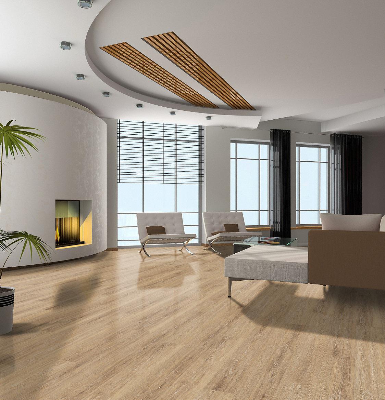 vinylboden ipc hit boden4you 230009 eiche kiesel pvc. Black Bedroom Furniture Sets. Home Design Ideas