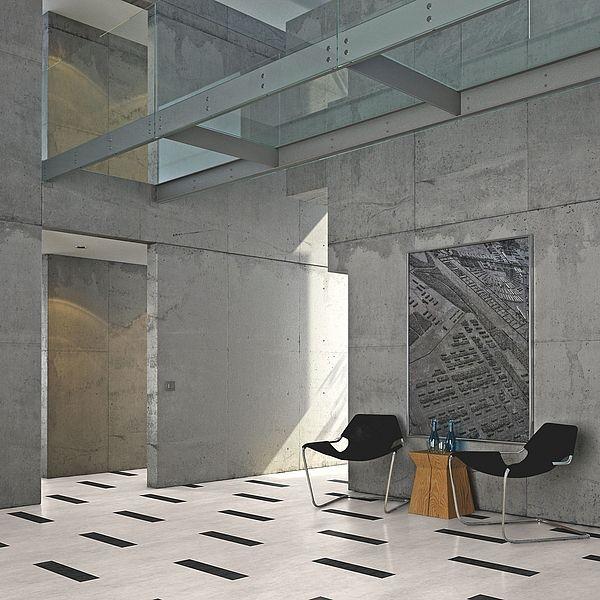 boden4you 2923 sandstone white sandstein wei projectline vinyl design fliesen objectflor. Black Bedroom Furniture Sets. Home Design Ideas